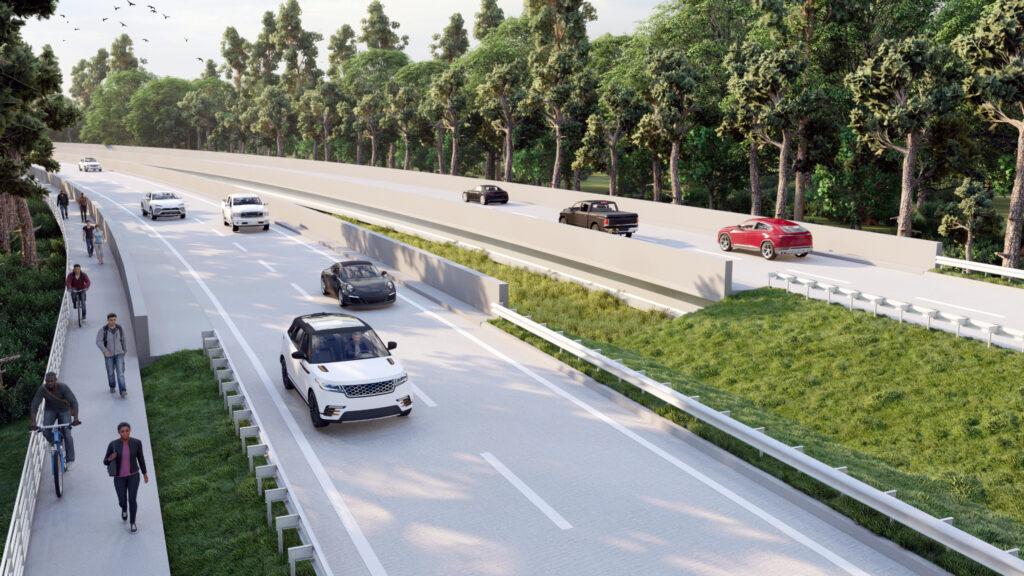 Howard Hughes Gosling Road Bridge Improvements