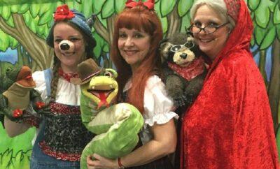 Storybook Theatre of Texas woodlands children's museum birthday 2021