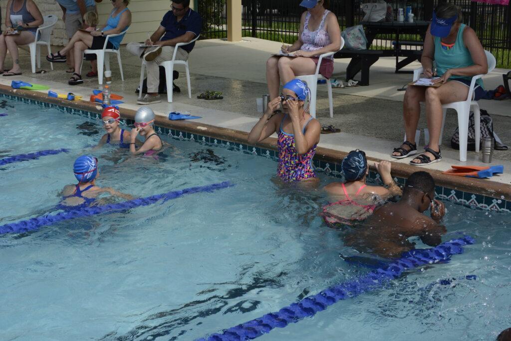 Swim for Sharks Lap Counting Shenandoah Texas
