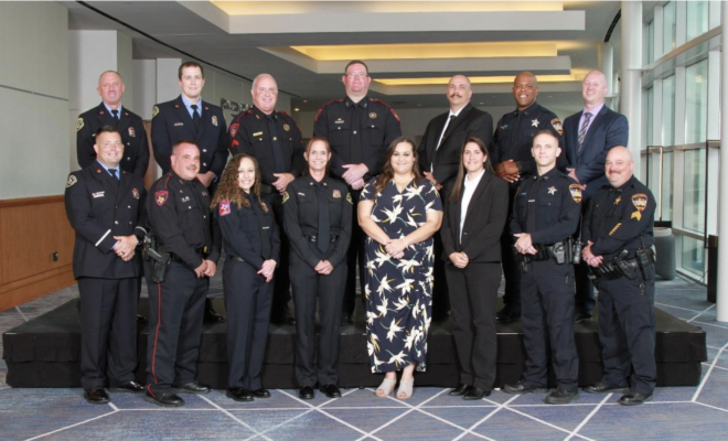 public safety awards woodlands township texas