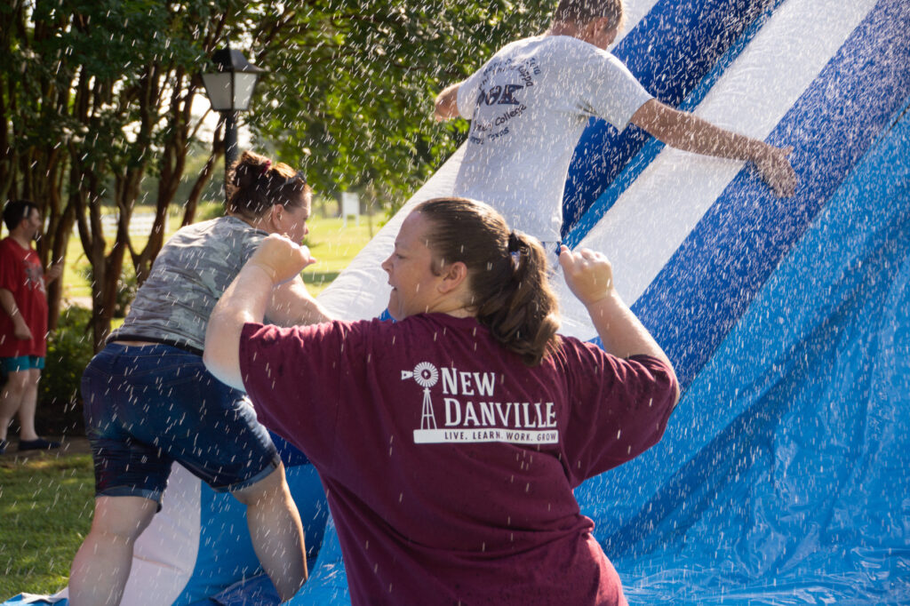 2021 Water Day New Danville Dancing