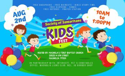 society of samaritans kids fest 2021