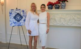 GGG Co-Chairs Brianna Masterson and Erin Dore Giving Goes Glam