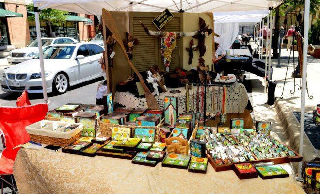 Market Stree Fine Arts Show
