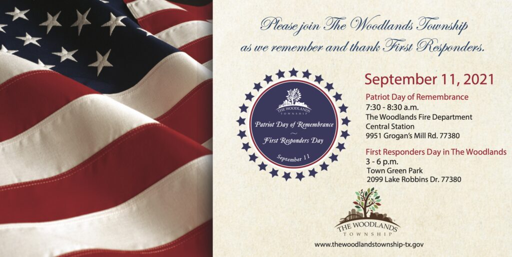 Patriot Day of Remembrance First Responders Day 2021