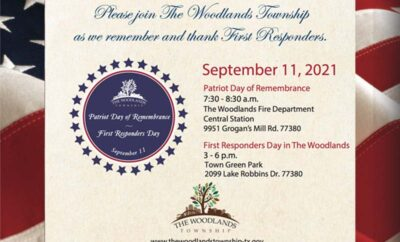 Patriot Day of Remembrance First Responders Day 2021 Cover