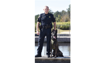 MCTXSheriff Says Farewell to Veteran K9 Hummer
