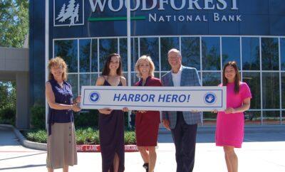 Woodforest Charitable foundation harbor hero Children's Safe Harbor 2021