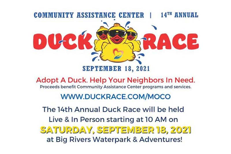 Duck Race 2021 community assistance center cac montgomery county