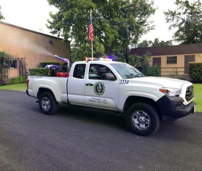 Mosquito truck west nile virus james noack