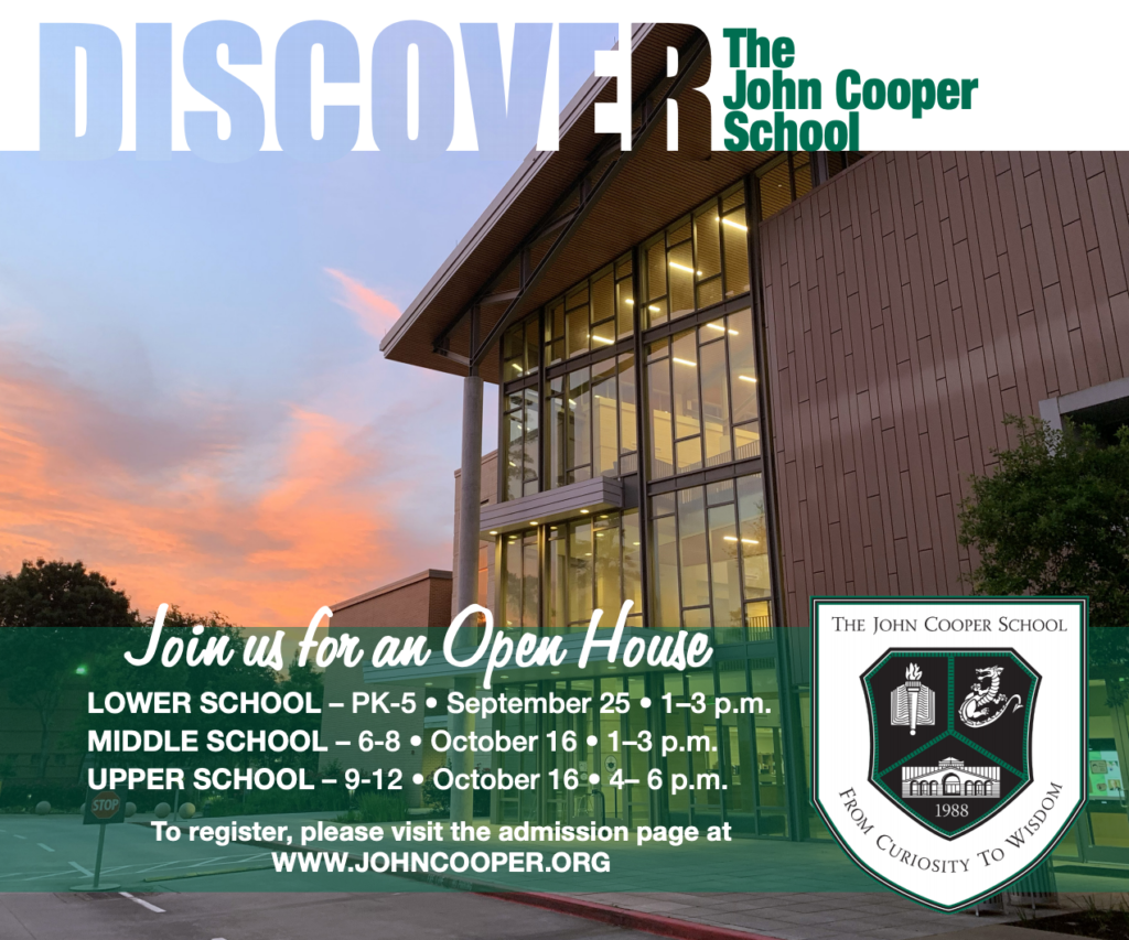 The John Cooper School Admissions Open House