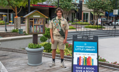 The Little Free Library Market Street The Woodlands 2021