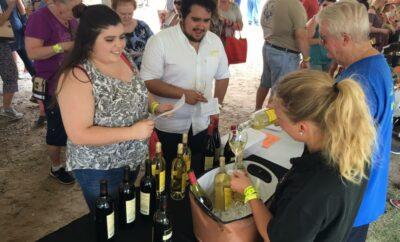 Wine tasting at Wine-Fest MONTGOMERY COUNTY