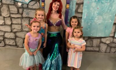 Ariel Pirate Princess Day The Woodlands Children's Museum