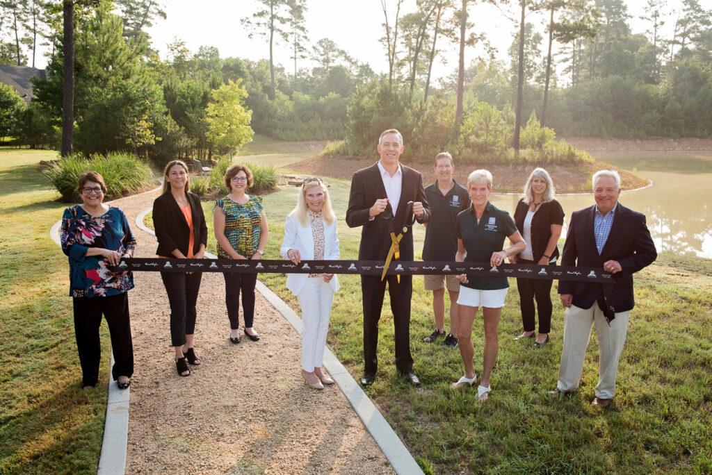Monarch Pond Park Ribbon Cutting the woodlands texas howard hughes corporation