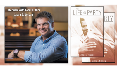 The Life of The Party Novel by Local Author Jason J. Nelson Hello Woodlands