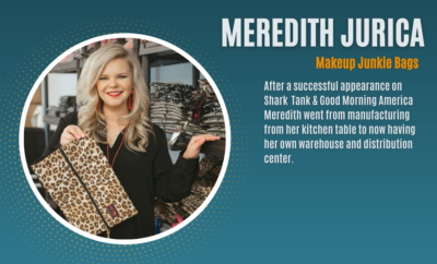 The Woodlands Area Chamber of Commerce Business Summit 2021 Meredith Jurica Makeup Junkie Bags