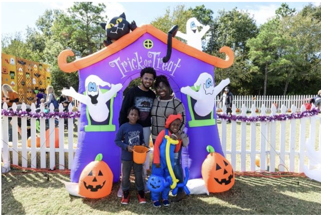 Trick or Treat Trail Northshore Park the Woodlands Township