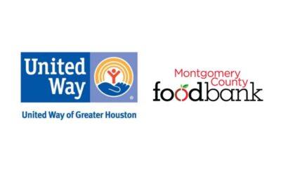 United Way of Greater Houston Montgomery County Food Bank 2021 Hurricane Uri Grant