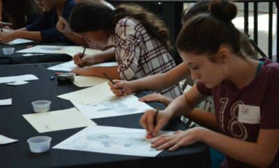 Woodlands Arts Council Fast Draw Competition