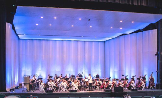 Woodlands Symphony Orchestra Pavilion Full Orchestra