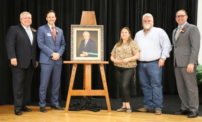 Conroe ISD Dedicates Ruben W. Hope, Jr. Elementary School Portrait Presentation Conroe Independent School District ISD