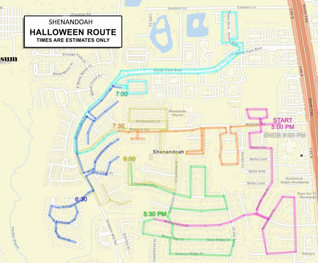 Halloween Safe Streets Parade Shenandoah