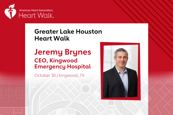 Heart Walk Chair Greater Lake Houston Heart Walk