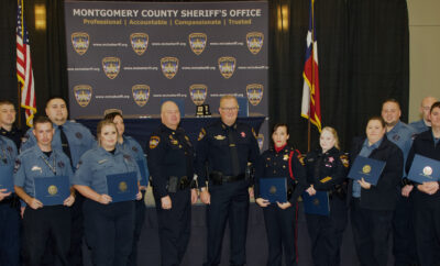 Montgomery County Sheriff Office Promotion & Awards October 2021