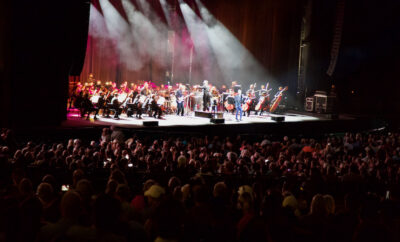 On Thursday, September 30, Houston Symphony returned to The Cynthia Woods Mitchell Pavilion's Main Stage for an evening featuring a variety of Queen classics