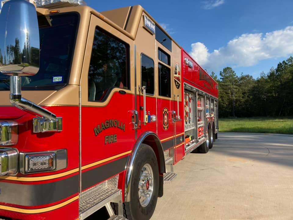 Magnolia Fire Truck