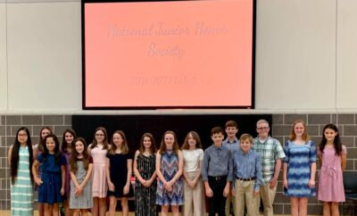 National Junior Honor Society The Woodlands Methodist School