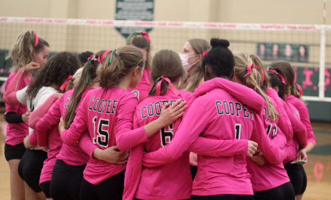 The John Cooper School 2021 Volleyball Dig Pink Event