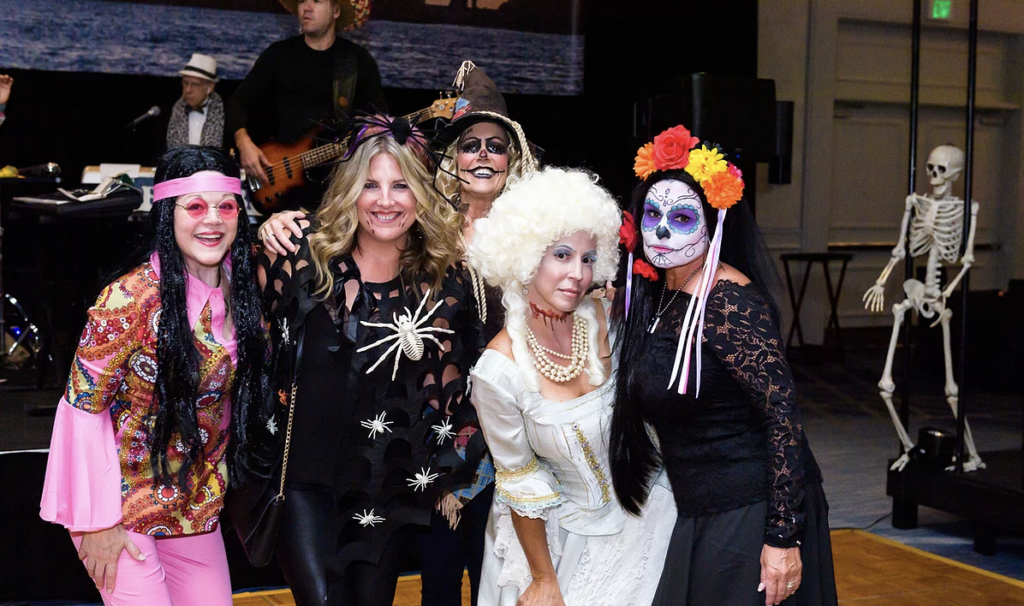 The Woodlands Charities Into the Woods Halloween Party