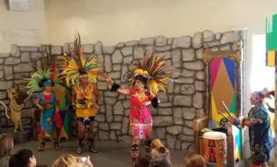 The Woodlands Children's Museum chickawa cultural performing arts